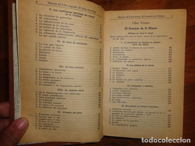 Libros antiguos: obras de jagot, enciclopedia cuspide para triunfar en la vida, Joaquin gil editor - Foto 7 - 155379930