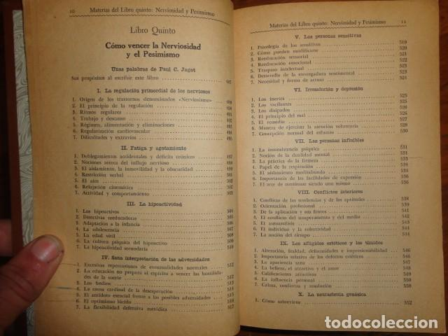 Libros antiguos: obras de jagot, enciclopedia cuspide para triunfar en la vida, Joaquin gil editor - Foto 10 - 155379930