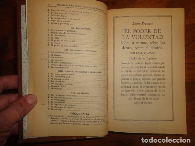 Libros antiguos: obras de jagot, enciclopedia cuspide para triunfar en la vida, Joaquin gil editor - Foto 11 - 155379930