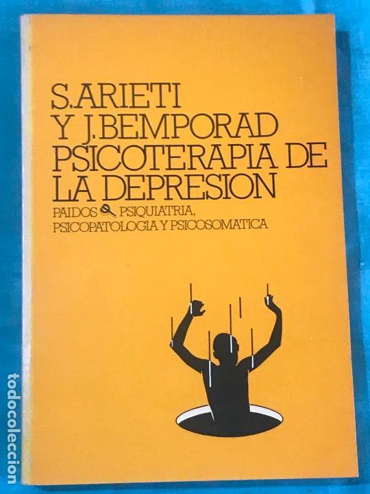 PSICOTERAPIA DE LA DEPRESIÓN S.ARIETI ED PAIDÓS (Libros Antiguos, Raros y Curiosos - Pensamiento - Psicología)