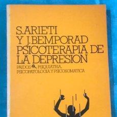 Libros antiguos: PSICOTERAPIA DE LA DEPRESIÓN S.ARIETI ED PAIDÓS . Lote 158065246