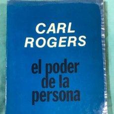 Livros antigos: CARL ROGERS EL PODER DE LA PERSONA. Lote 208040977