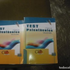 Libros antiguos: TESTS PSICOTÈCNICS. Lote 160708538