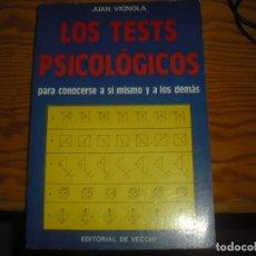Libros antiguos: TESTS PSICOMÈTRICS. Lote 167011996