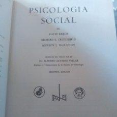 Libros antiguos: 2 LIBROS PSICOLOGÍA. Lote 171124862