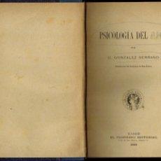 Libros antiguos: PSICOLOGÍA DEL AMOR. Lote 178846798