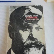 Libros antiguos: INTRODUCCIÓN AL PSICOANÁLISIS DE FREUD. Lote 189939346