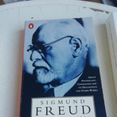 Libros antiguos: FREUD CIVILIZATION, SOCIETY AND RELIGION, EN INGLÉS. Lote 190515201