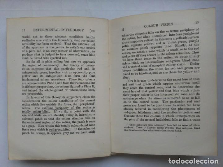 Libros antiguos: An Introduction to Experimental Psychology C.S.Myers Cambridge University Press 1914 Libro en inglés - Foto 16 - 194403205