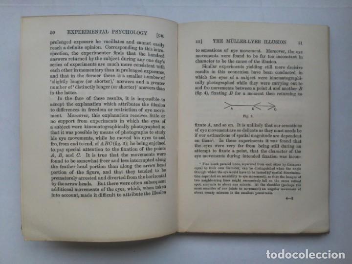 Libros antiguos: An Introduction to Experimental Psychology C.S.Myers Cambridge University Press 1914 Libro en inglés - Foto 18 - 194403205