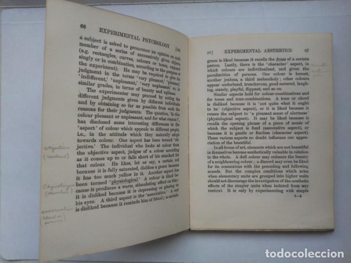 Libros antiguos: An Introduction to Experimental Psychology C.S.Myers Cambridge University Press 1914 Libro en inglés - Foto 19 - 194403205