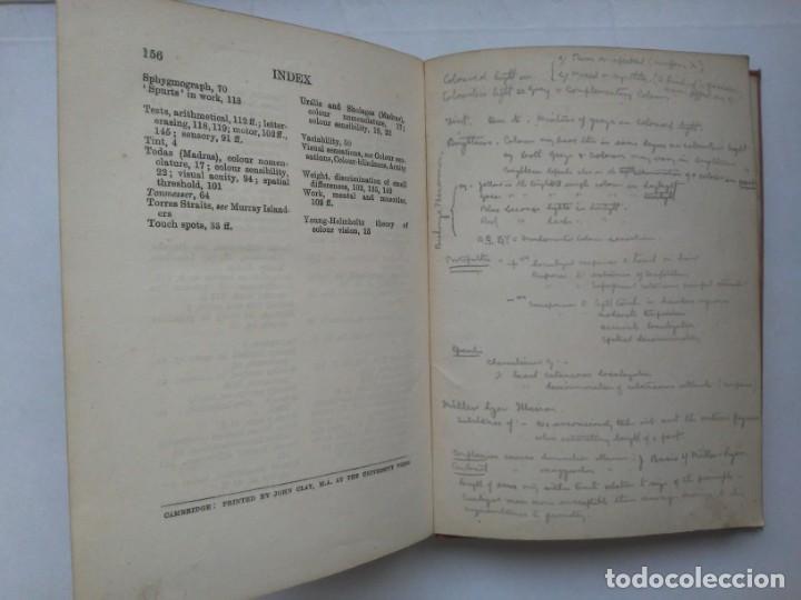 Libros antiguos: An Introduction to Experimental Psychology C.S.Myers Cambridge University Press 1914 Libro en inglés - Foto 22 - 194403205