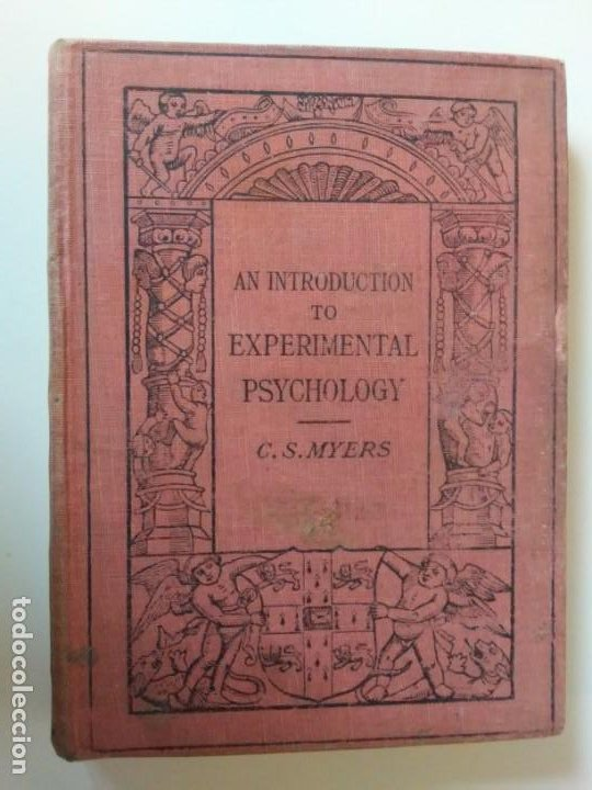 Libros antiguos: An Introduction to Experimental Psychology C.S.Myers Cambridge University Press 1914 Libro en inglés - Foto 27 - 194403205
