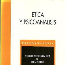 Livros antigos: ETICA Y PSICOANALISIS . Lote 194534358
