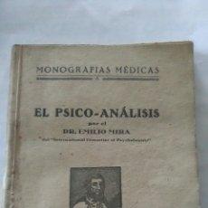 Libros antiguos: EL PSICOANÁLISIS. EMILIO MIRA. Lote 196933180