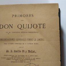 Libros antiguos: PRIMORES DEL DON QUIJOTE. Lote 197060463