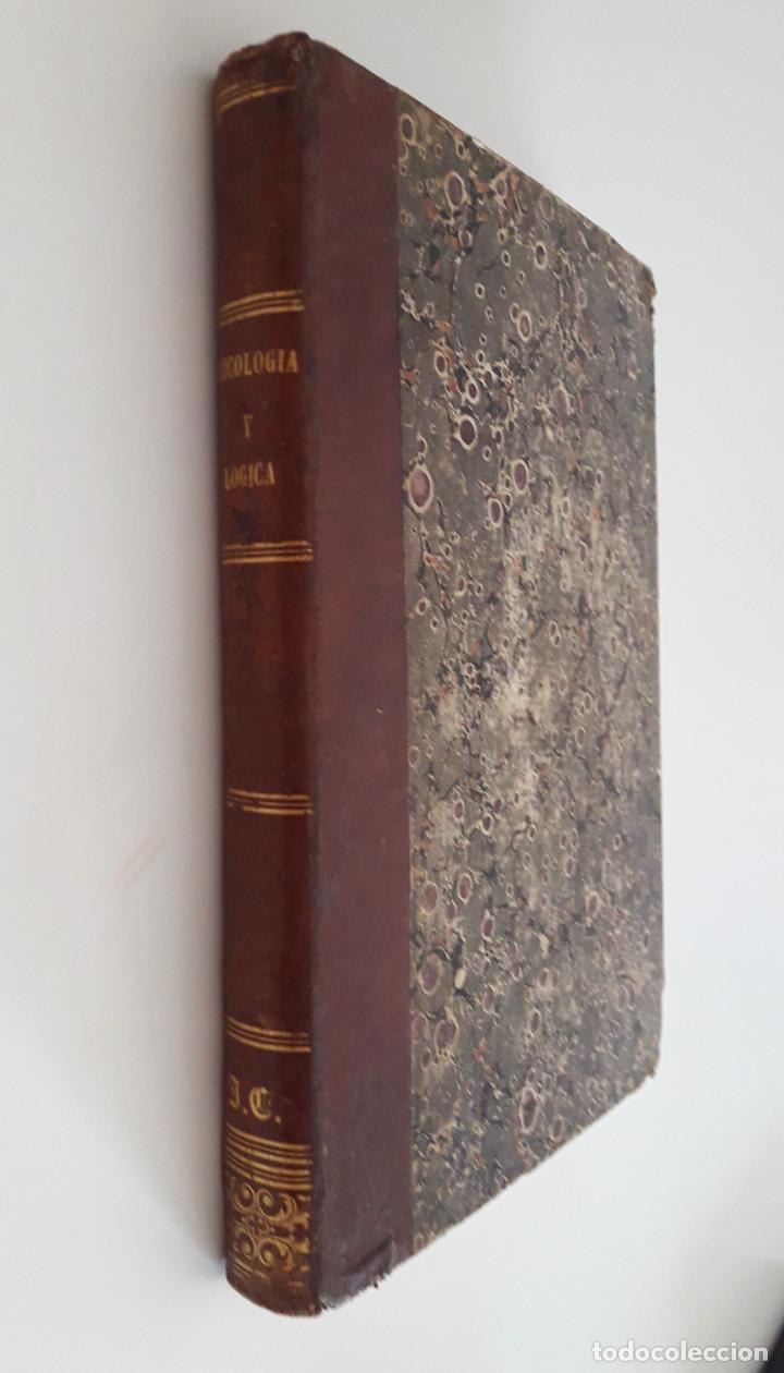CURSO ELEMENTAL DE PSICOLOGÍA Y LÓGICA- PELAEZ DEL POZO 1848 (Libros Antiguos, Raros y Curiosos - Pensamiento - Psicología)