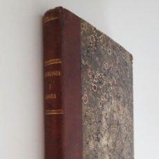 Libros antiguos: CURSO ELEMENTAL DE PSICOLOGÍA Y LÓGICA- PELAEZ DEL POZO 1848. Lote 210573357