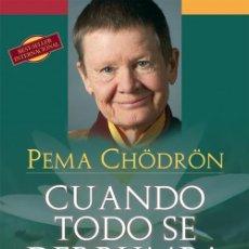Libros antiguos: CUANDO TODO SE DERRUMBA. - CHÖDRÖN, PEMA.. Lote 219245910