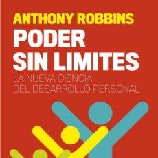 Libros antiguos: PODER SIN LÍMITES. - TONY ROBBINS.. Lote 221630128