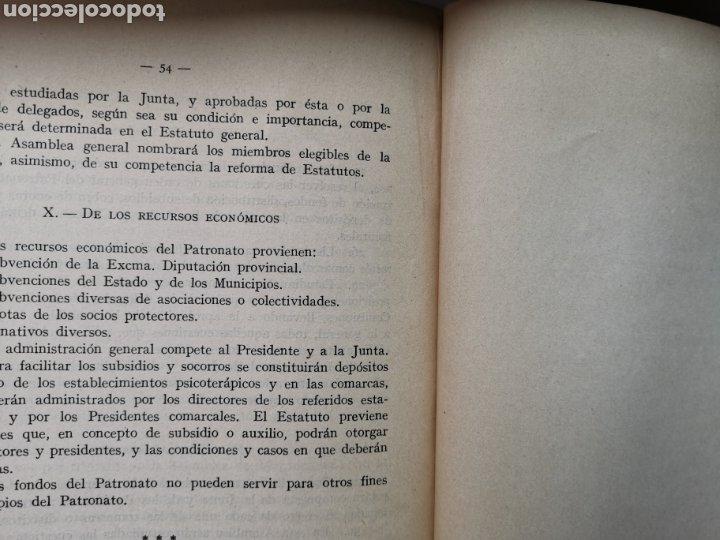 Libros antiguos: Libro La asistencia de los psicópatas ya la beneficencia de 1930. Dr. Tomás Buquet Teixidor. - Foto 7 - 223716752