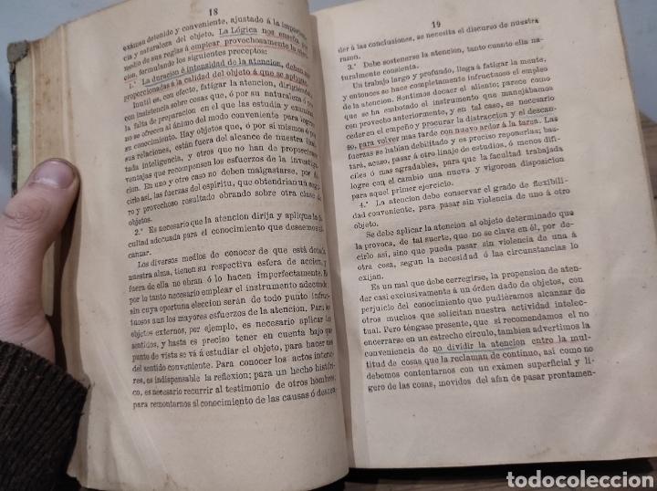 Libros antiguos: 1870. CURSO DE FILOSOFÍA ELEMENTAL. TRATADO DE PSICOLOGÍA. DON JOSÉ MORENO CASTELLÓ - Foto 4 - 233151270