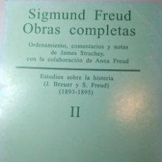 Libros antiguos: SIGMUND FREUD. OBRAS COMPLETAS TOMO II. Lote 233709220
