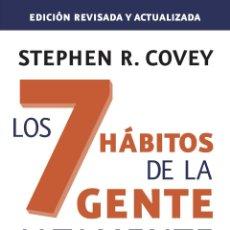 Libros antiguos: LOS 7 HÁBITOS DE LA GENTE ALTAMENTE EFECTIVA. ED. REVISADA Y ACTUALIZADA. - COVEY, STEPHEN R... Lote 236813575