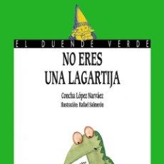 Libros antiguos: NO ERES UNA LAGARTIJA. - LÓPEZ NÁRVAEZ, CONCHA.. Lote 236814360