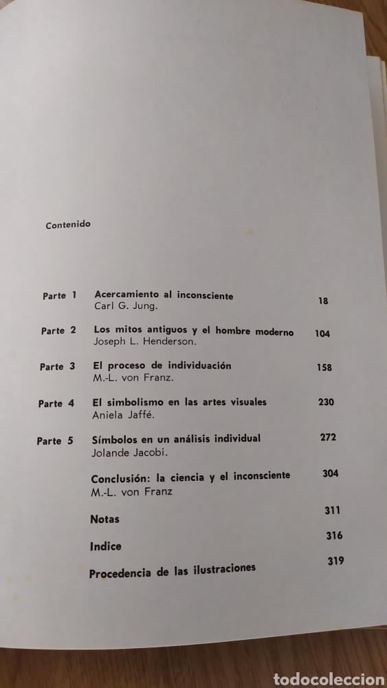 Libros antiguos: El hombre y sus símbolos. Carl Gustav Jung. Primera edición ilustrada. Aguilar 1966 - Foto 7 - 240648560
