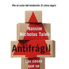 Libros antiguos: ANTIFRÁGIL. - TALEB, NASSIM NICHOLAS.. Lote 261643770