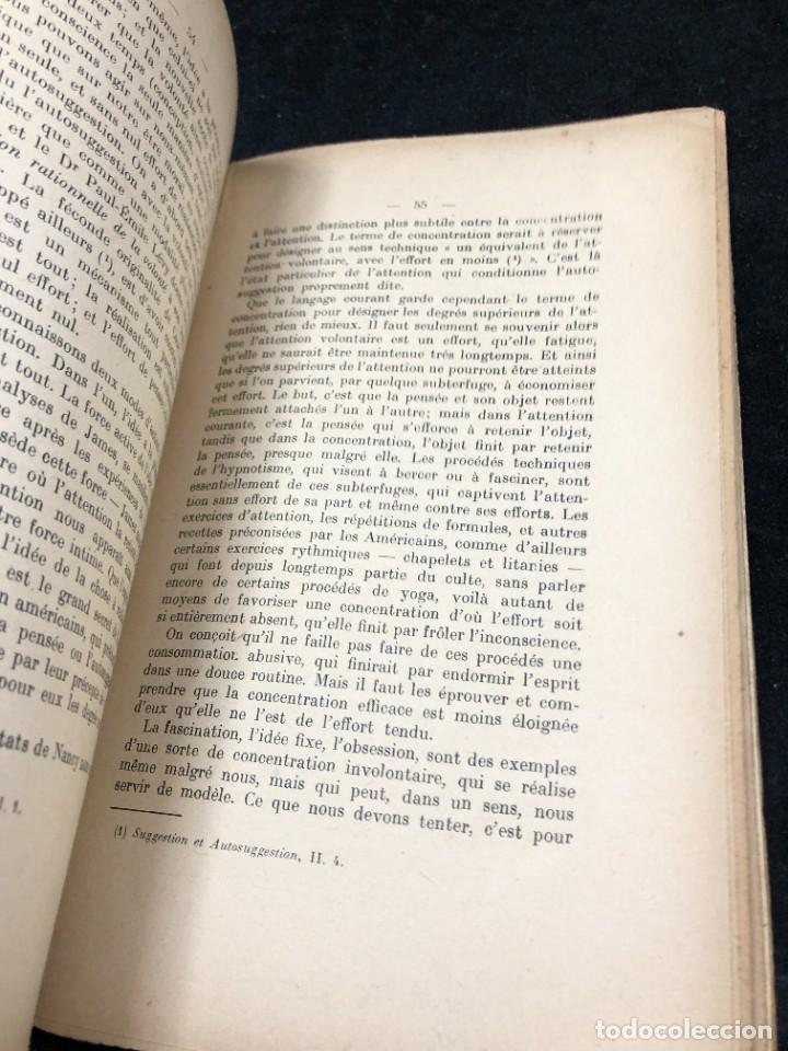 Libros antiguos: LA FORCE EN NOUS, par CHARLES BAUDOUIN. 1923 Societé Iorraine de Psychologie Appliquée-Nancy - Foto 5 - 262246425
