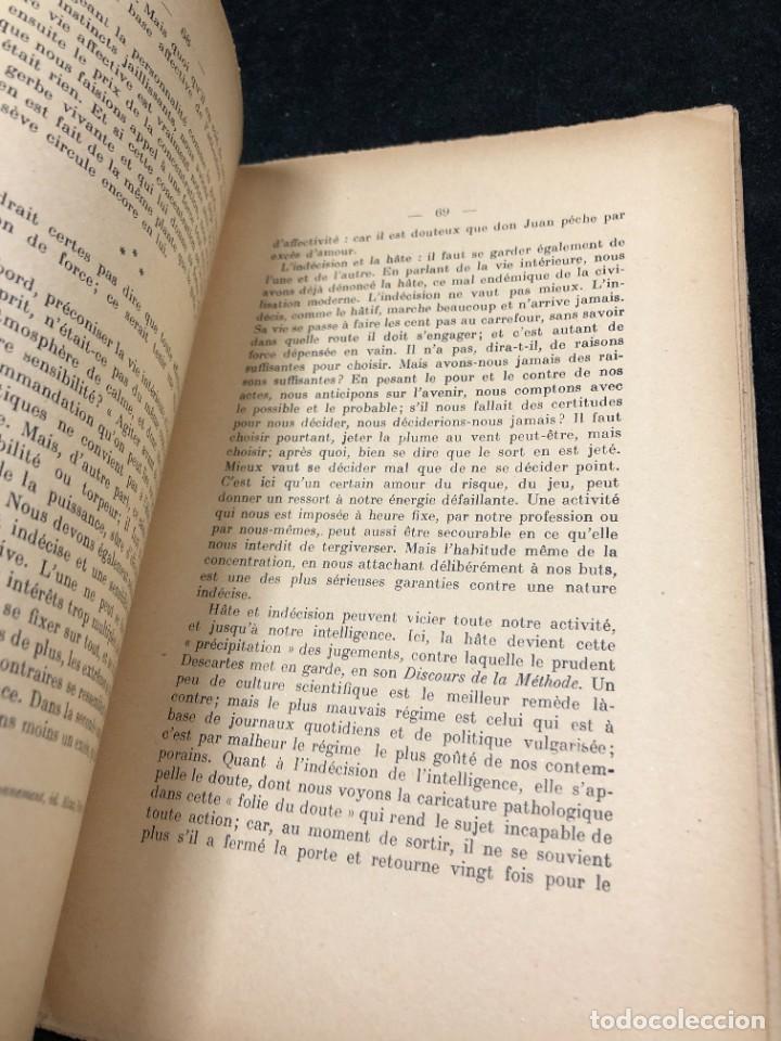 Libros antiguos: LA FORCE EN NOUS, par CHARLES BAUDOUIN. 1923 Societé Iorraine de Psychologie Appliquée-Nancy - Foto 6 - 262246425