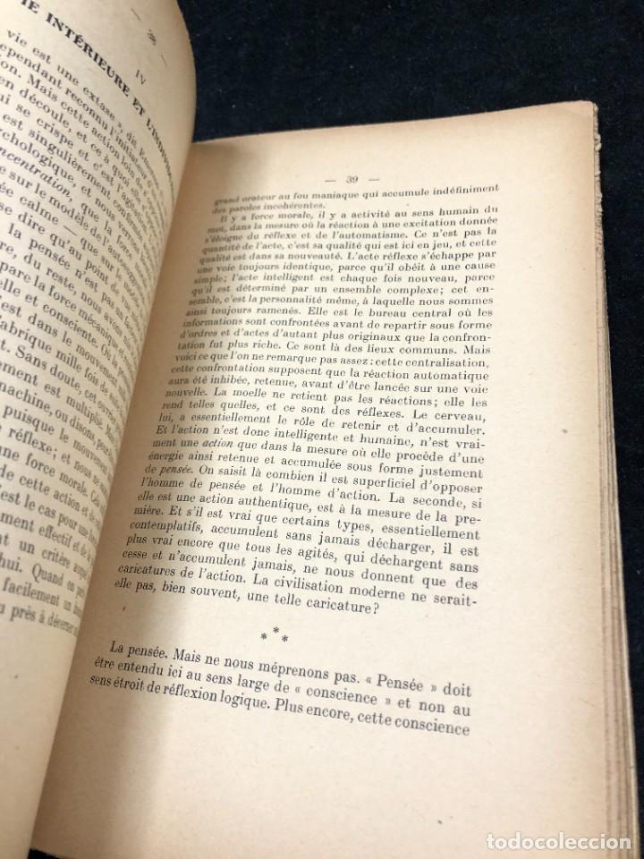 Libros antiguos: LA FORCE EN NOUS, par CHARLES BAUDOUIN. 1923 Societé Iorraine de Psychologie Appliquée-Nancy - Foto 7 - 262246425