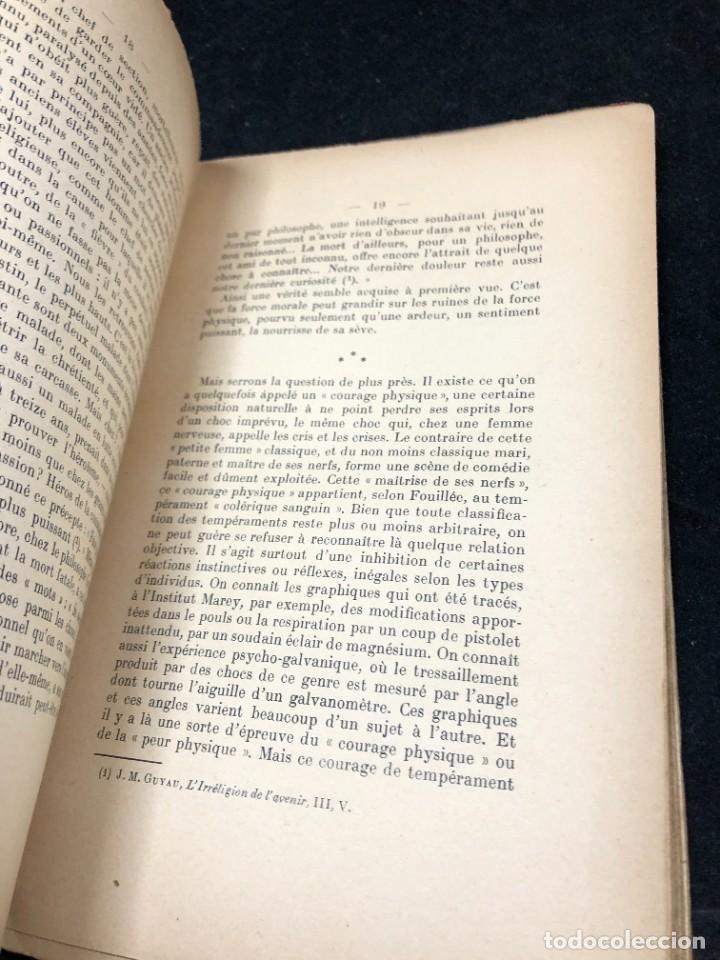 Libros antiguos: LA FORCE EN NOUS, par CHARLES BAUDOUIN. 1923 Societé Iorraine de Psychologie Appliquée-Nancy - Foto 8 - 262246425