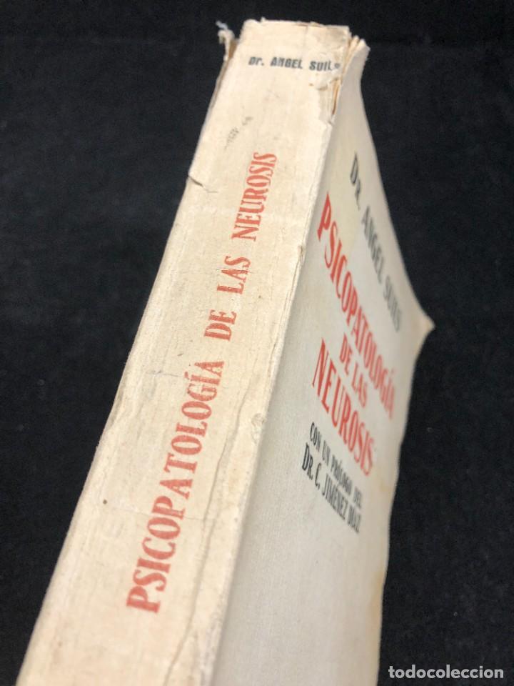 Libros antiguos: Psicopatología De Las Neurosis. Angel Suils Editorial España 1933. Dedicatoria y firma del autor - Foto 3 - 262991785