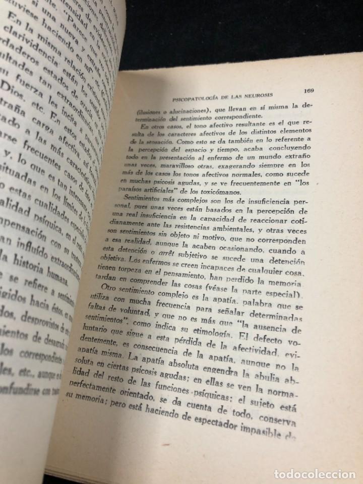 Libros antiguos: Psicopatología De Las Neurosis. Angel Suils Editorial España 1933. Dedicatoria y firma del autor - Foto 5 - 262991785