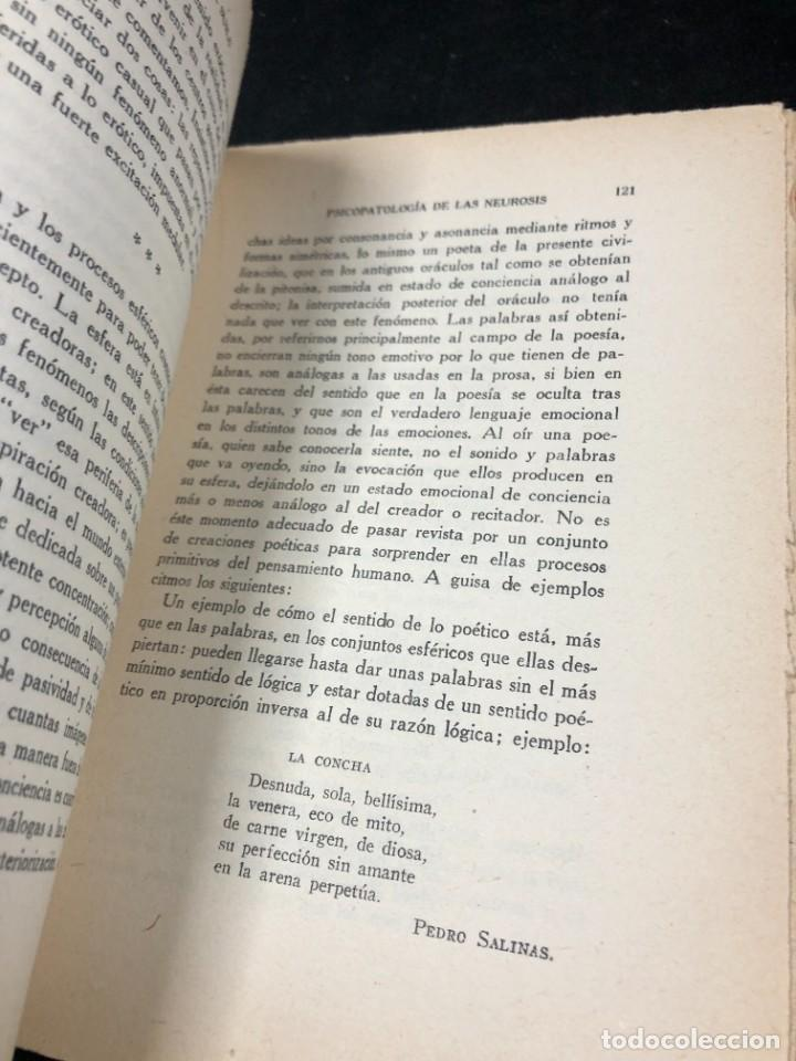 Libros antiguos: Psicopatología De Las Neurosis. Angel Suils Editorial España 1933. Dedicatoria y firma del autor - Foto 6 - 262991785