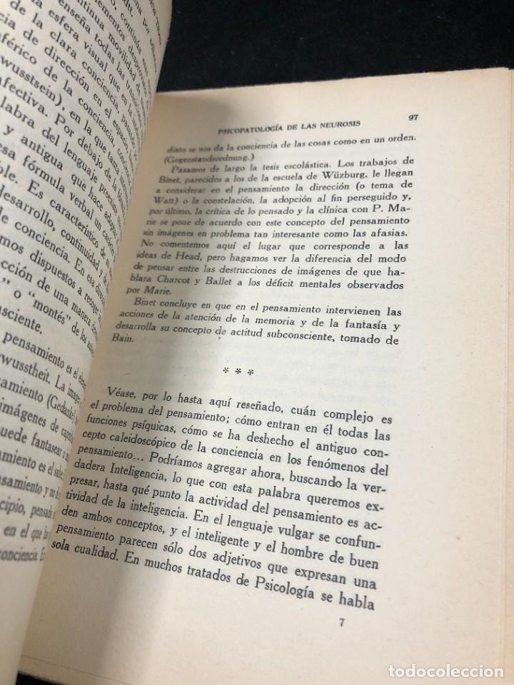 Libros antiguos: Psicopatología De Las Neurosis. Angel Suils Editorial España 1933. Dedicatoria y firma del autor - Foto 8 - 262991785
