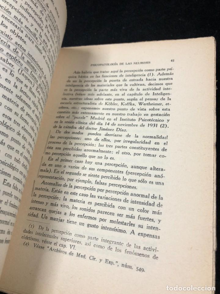Libros antiguos: Psicopatología De Las Neurosis. Angel Suils Editorial España 1933. Dedicatoria y firma del autor - Foto 10 - 262991785