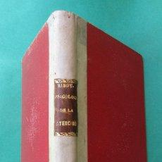 Libros antiguos: ´PSICOLOGÍA DE LA ATENCIÓN´. TH. RIBOT. DANIEL JORRO 1910. HOLONDESA. 207 PÁGINAS.. Lote 268810894