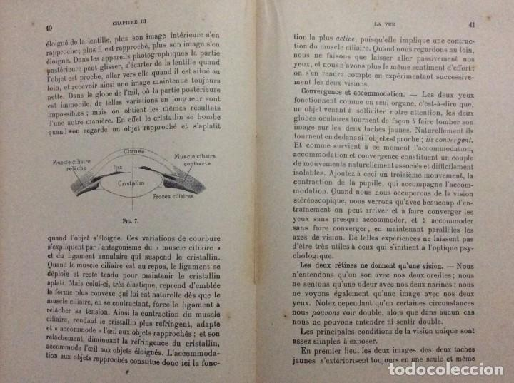 Libros antiguos: Précis de Psychologie, Por William James/ B. Baudin y G. Bertier, 1932. Muy escaso - Foto 4 - 284837013