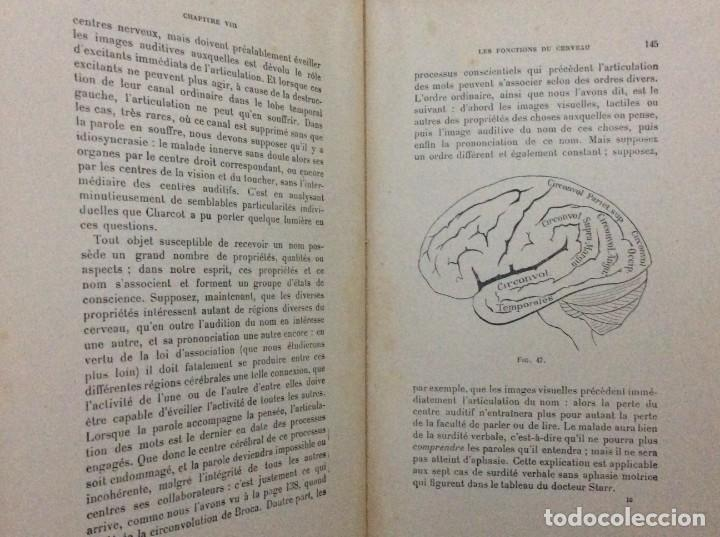 Libros antiguos: Précis de Psychologie, Por William James/ B. Baudin y G. Bertier, 1932. Muy escaso - Foto 6 - 284837013