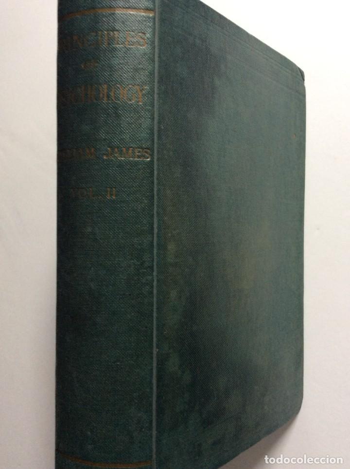 Libros antiguos: The Principles of Psychology. William James, 1918. Ilustrado. En inglés. Muy raro. Salida a 1 € - Foto 2 - 286722628