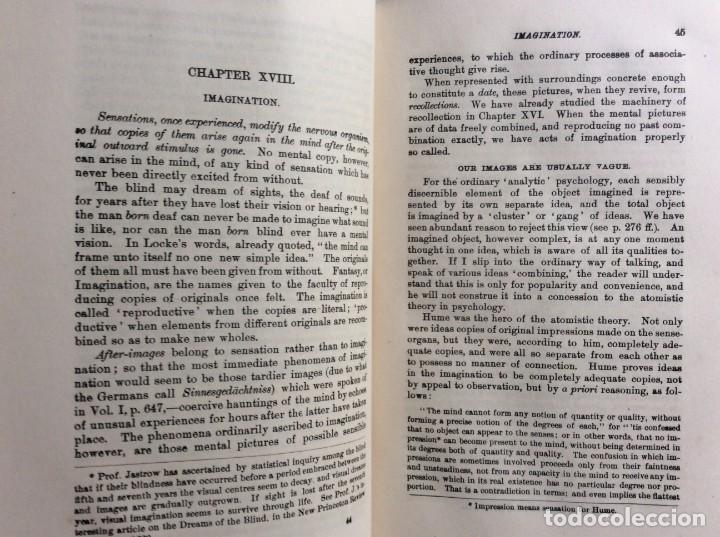 Libros antiguos: The Principles of Psychology. William James, 1918. Ilustrado. En inglés. Muy raro. Salida a 1 € - Foto 6 - 286722628