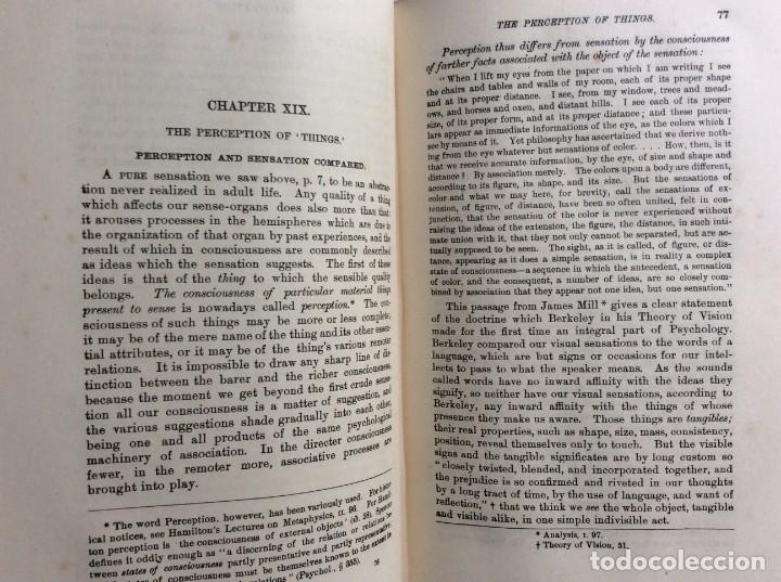 Libros antiguos: The Principles of Psychology. William James, 1918. Ilustrado. En inglés. Muy raro. Salida a 1 € - Foto 7 - 286722628