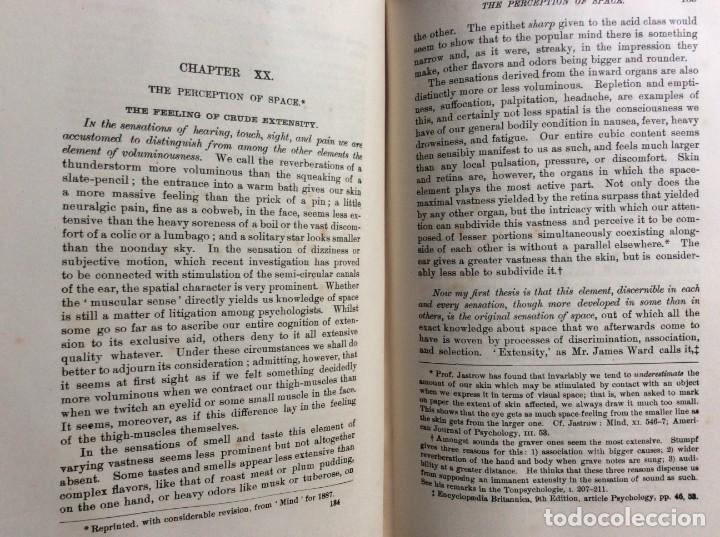 Libros antiguos: The Principles of Psychology. William James, 1918. Ilustrado. En inglés. Muy raro. Salida a 1 € - Foto 8 - 286722628
