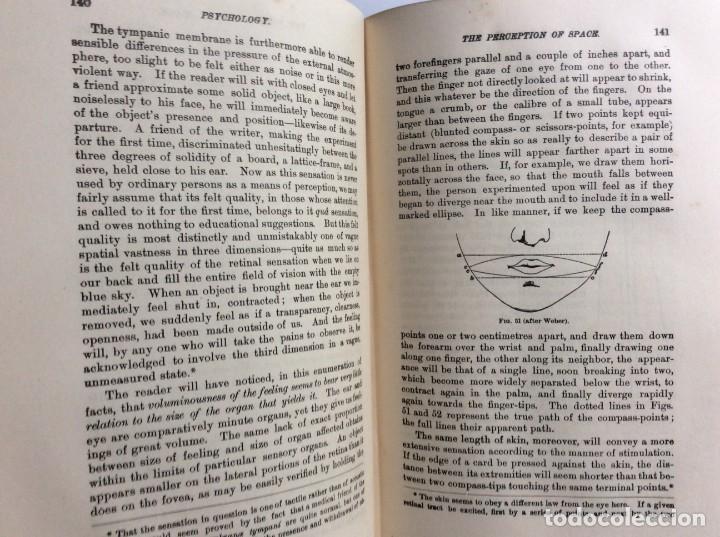Libros antiguos: The Principles of Psychology. William James, 1918. Ilustrado. En inglés. Muy raro. Salida a 1 € - Foto 9 - 286722628