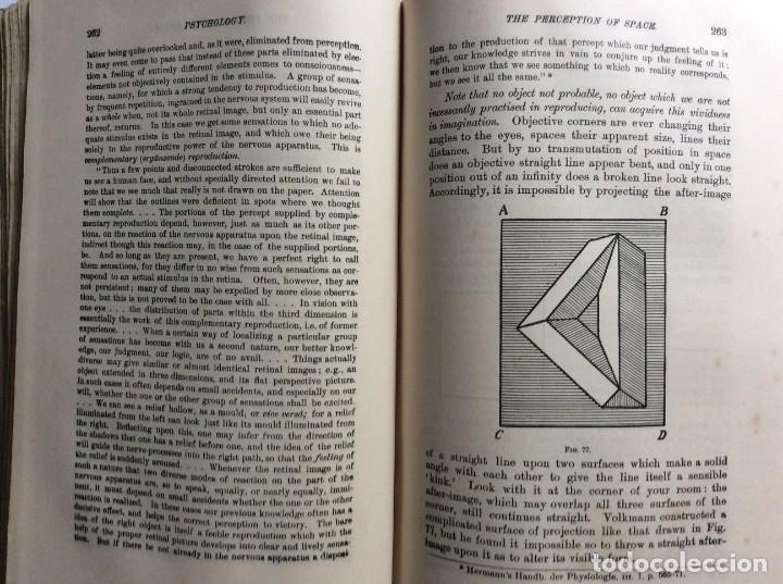 Libros antiguos: The Principles of Psychology. William James, 1918. Ilustrado. En inglés. Muy raro. Salida a 1 € - Foto 11 - 286722628
