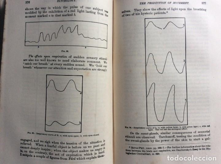 Libros antiguos: The Principles of Psychology. William James, 1918. Ilustrado. En inglés. Muy raro. Salida a 1 € - Foto 14 - 286722628